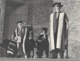 Auchmuty retirement ceremony, 1974