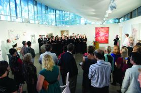 Uni Choir at Two Generations opening
