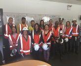 Postgraduate Student Site Tour of Orica Manufacturing Plant