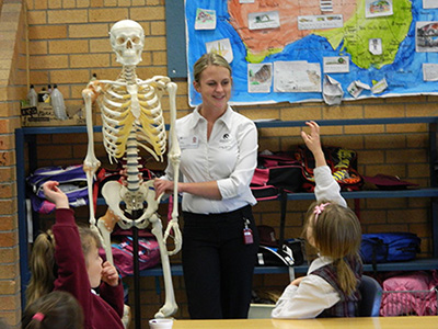 OT Student at Oxley Vale Public School