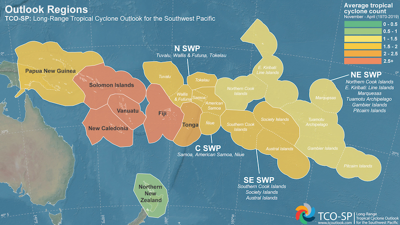Cyclone map