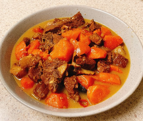 Stewed Lamb with Carrots