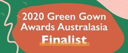 2020 Green Gown Awards Australasia Finalist