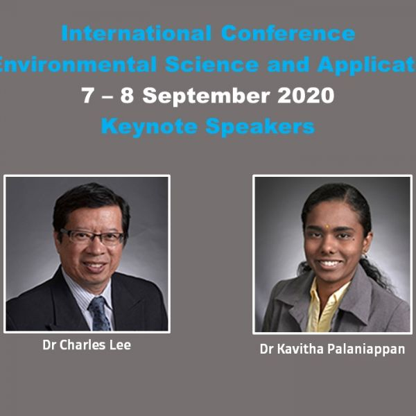 International Conference on Environmental Science and Application (ICESA'20)