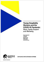 Young Hospitality Workers and the COVID-19 Pandemic:  Work, Family Support and Wellbeing