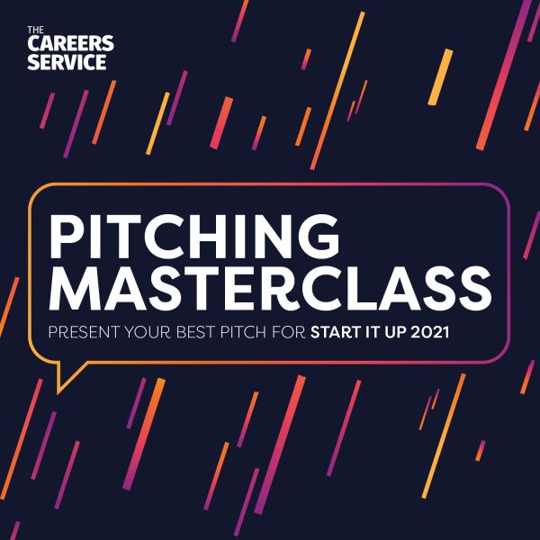 Pitching Masterclass 2021