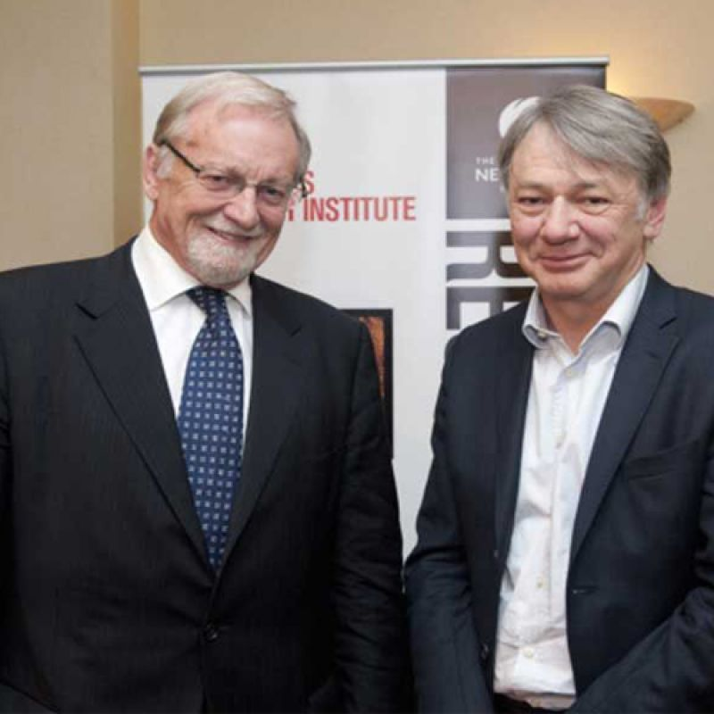 Gareth Evans and Professor Philip Dwyer, Centre for the History of Violence Director