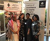 PENNY JANE BURKE WITH MEMBERS OF THE NETWORK GROUP IN SOUTH AFRICA