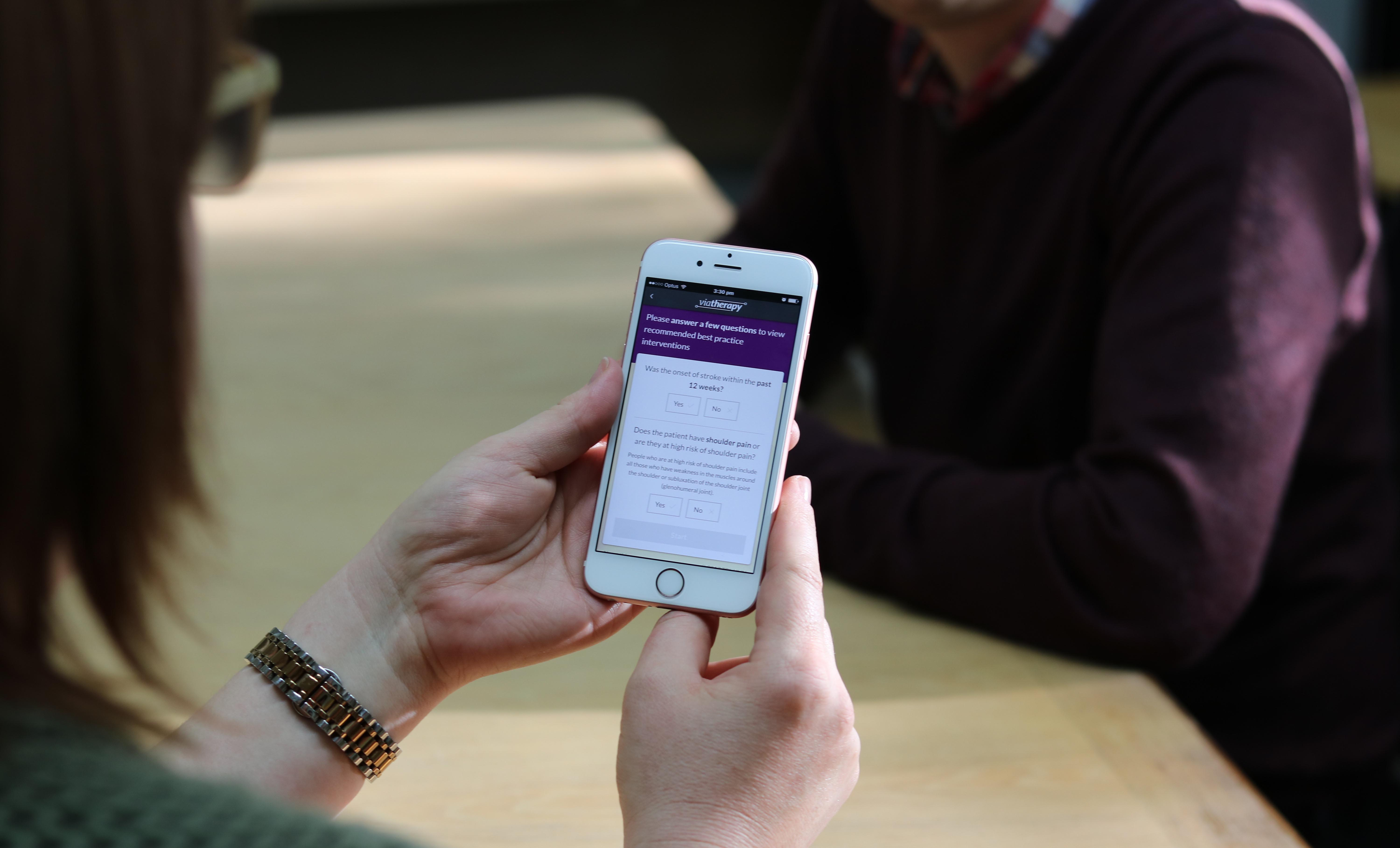 New app revolutionising treatment for stroke patients featured based on these factors it offers a list of suggestions of which rehabilitation exercises would best promote progress for the patient such as repetitive negle Images