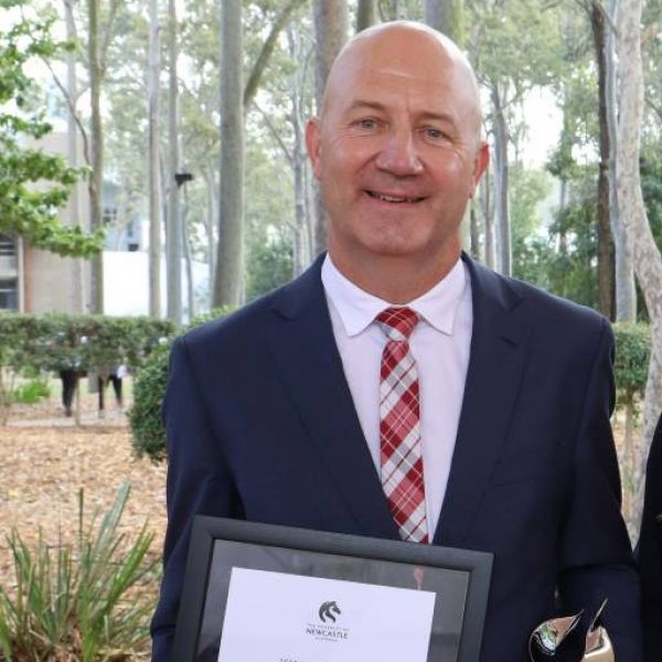 Conjoint Professor Kyle Loades receives UoN Alumni Award