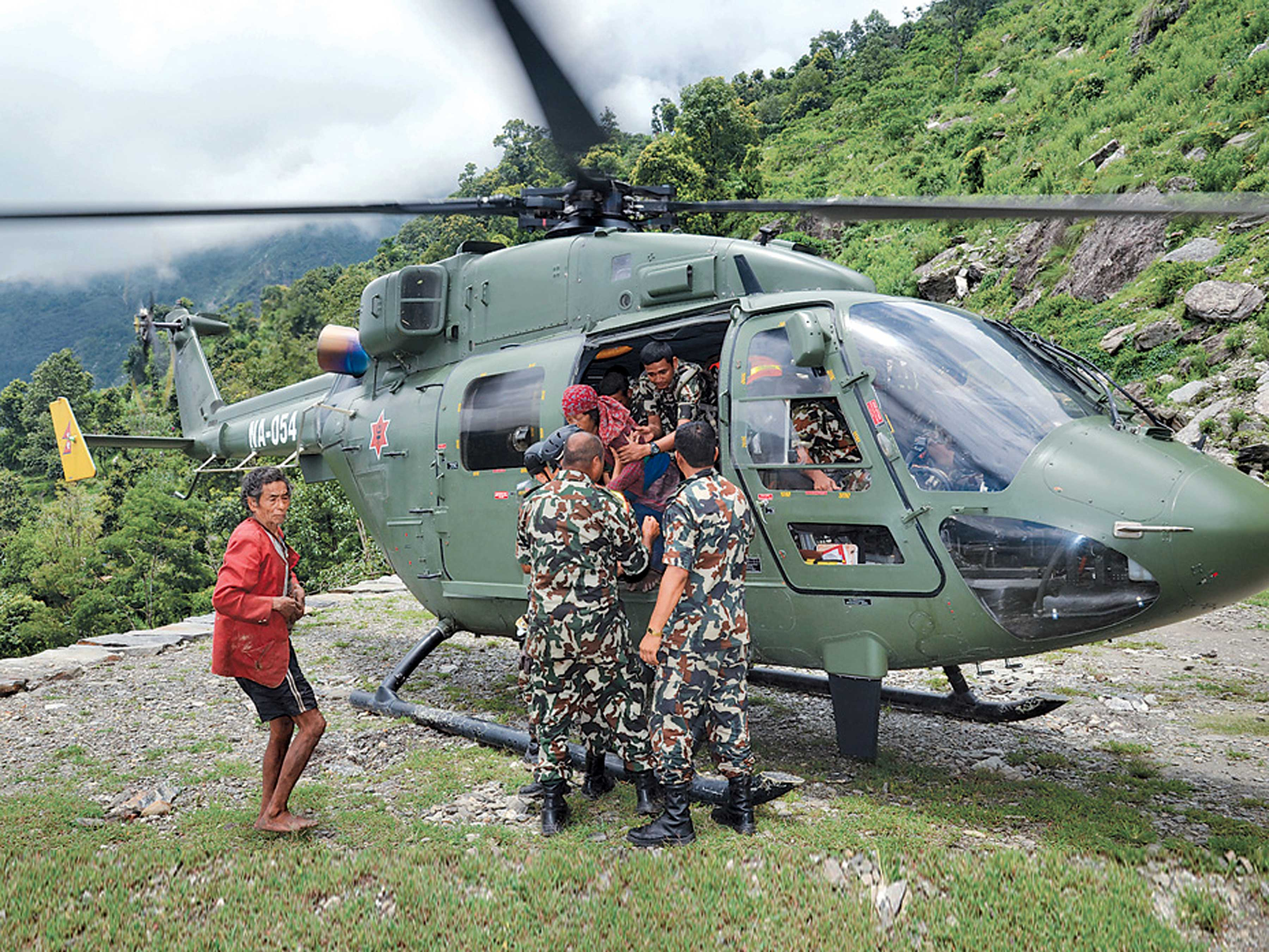 Saving the lives of Nepalese women