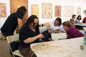 WAAP weaving workshop