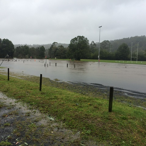Flooding in Ourimbah