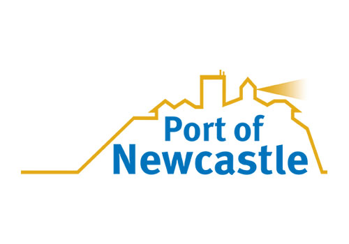 Port of Newcastle logo