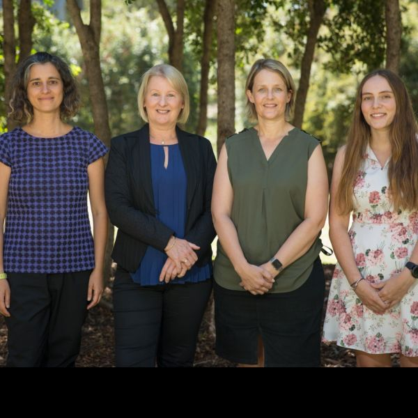 L Prof Jenny Gore and colleagues