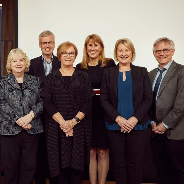 Professor Jenny Gore with colleagues