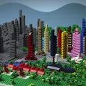 Still from LEGO Adventure In The City by Rogier Wieland