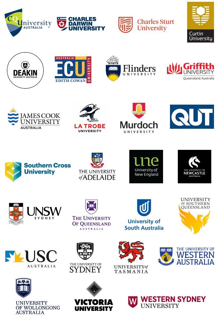 SEC Partner University Logos