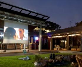 Cinema on the lawn
