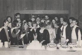 First medicine graduates, 1983