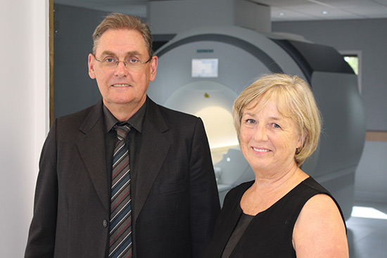 Dr David Clark and Professor Carolyn Mountford