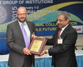 Dr Tony Drew receives award