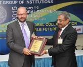 Dr Tony Drew receives award