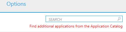 Windows 10 application catalog