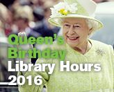 Library Queen's Birthday Long Weekend hours