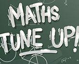 Screen shot of the Maths Tune Up website