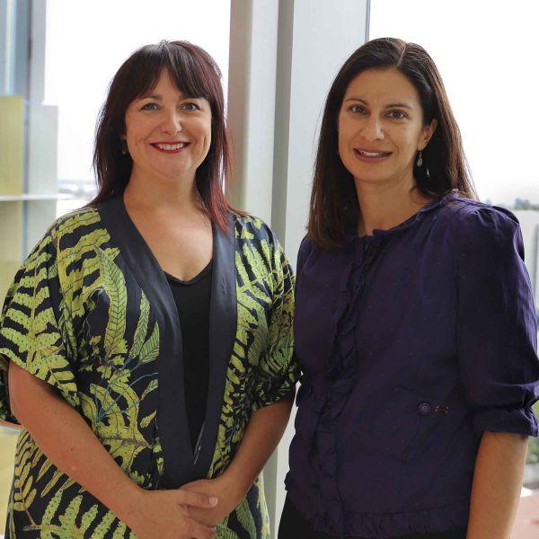 Dr Tamara Young and Kate Ramzan-Levy