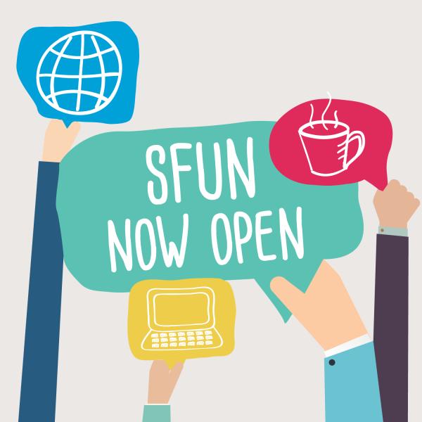 SFUN now open