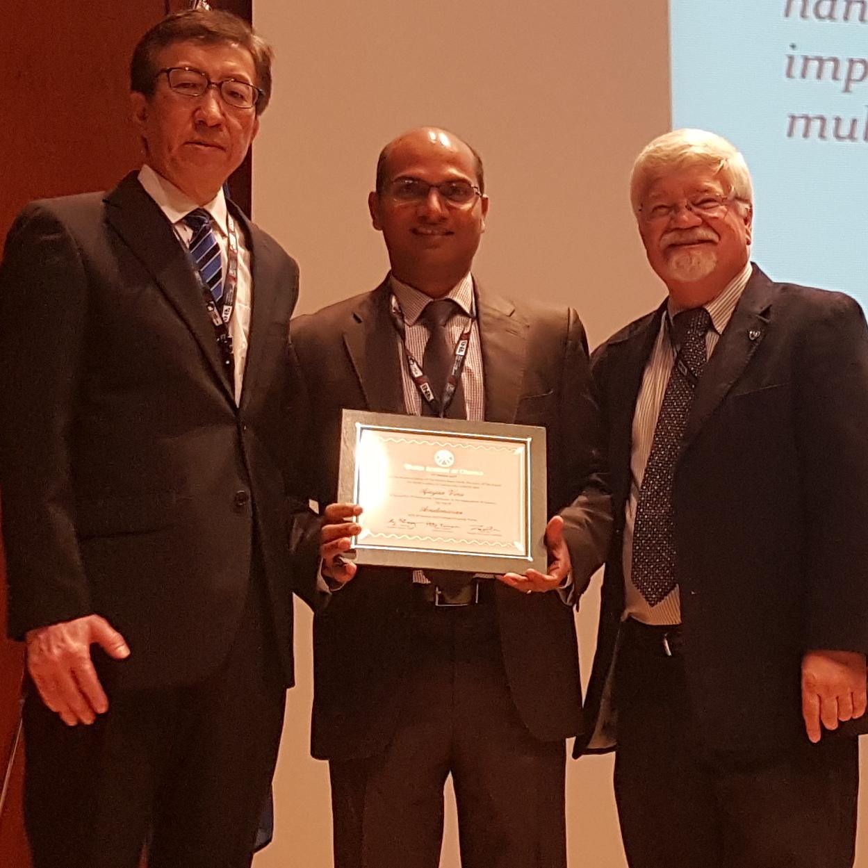 Professor Ajayan Vinu Staff Profile The University Of