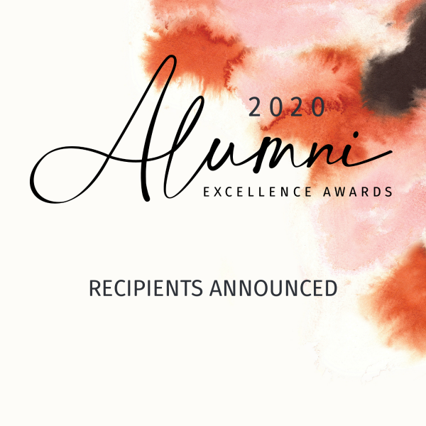 Trailblazers celebrated in 2020 Alumni Excellence Awards