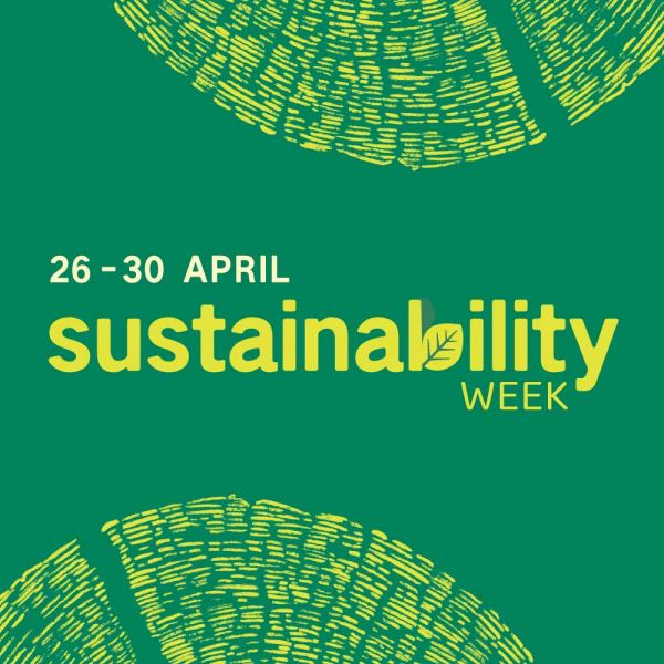 Sustainability week 26-30 april