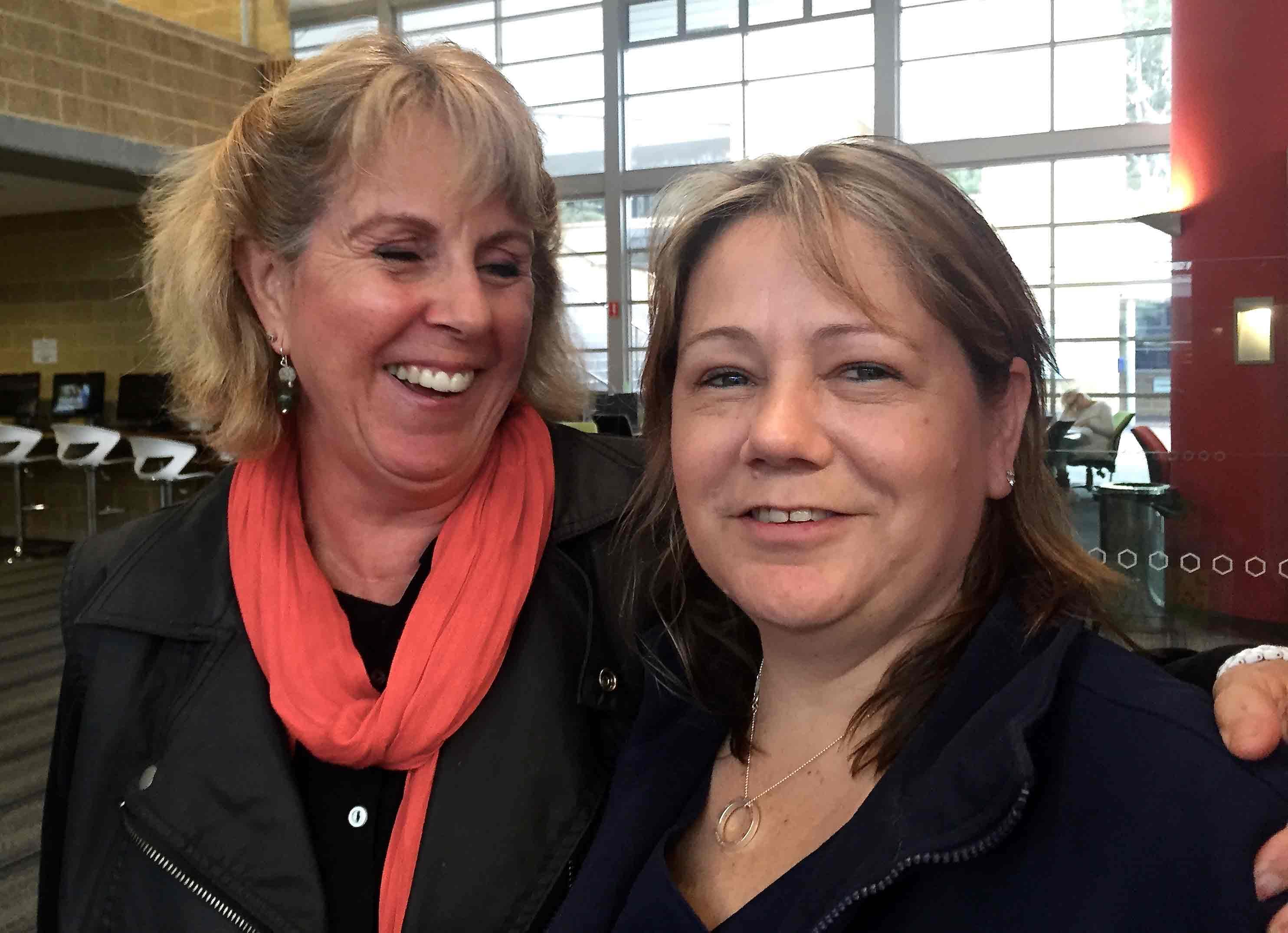 Carol and Jill
