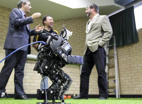 Croatian ambassador visits UON Robotics Lab