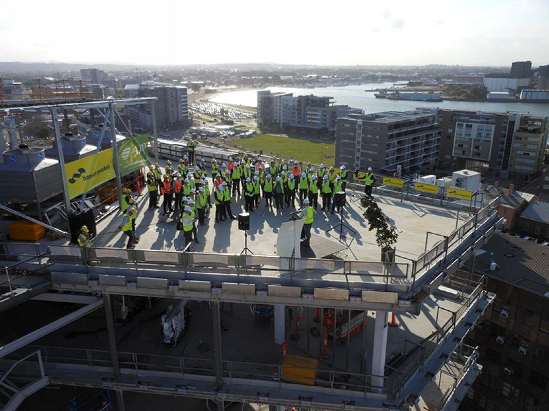 Topping Out Ceremony 021