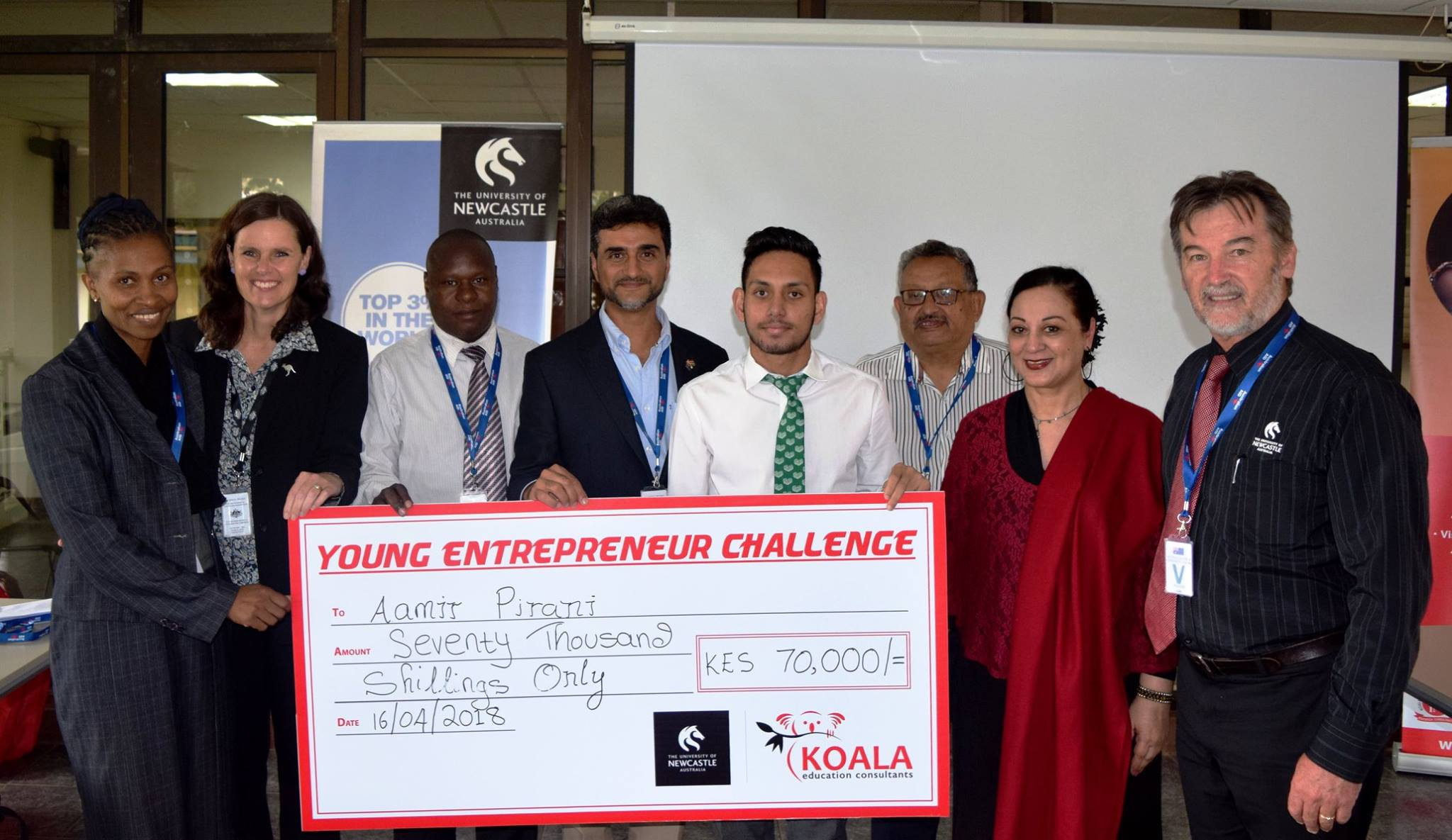 Young Entrepreneur Challenge in Kenya