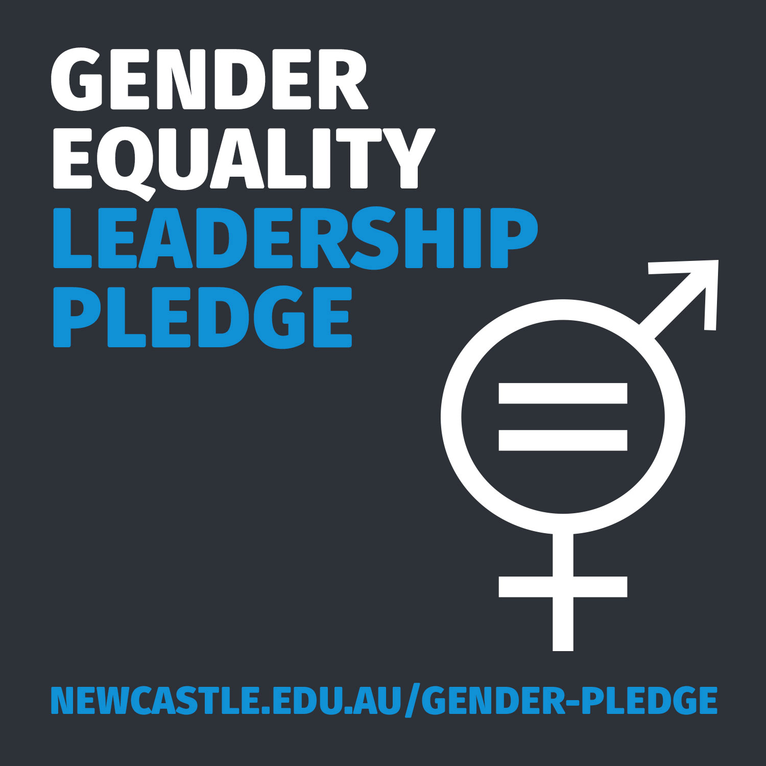 Gender Equality Leadership Pledge Badge