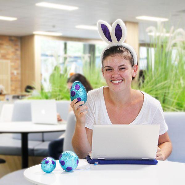 Easter break Library hours