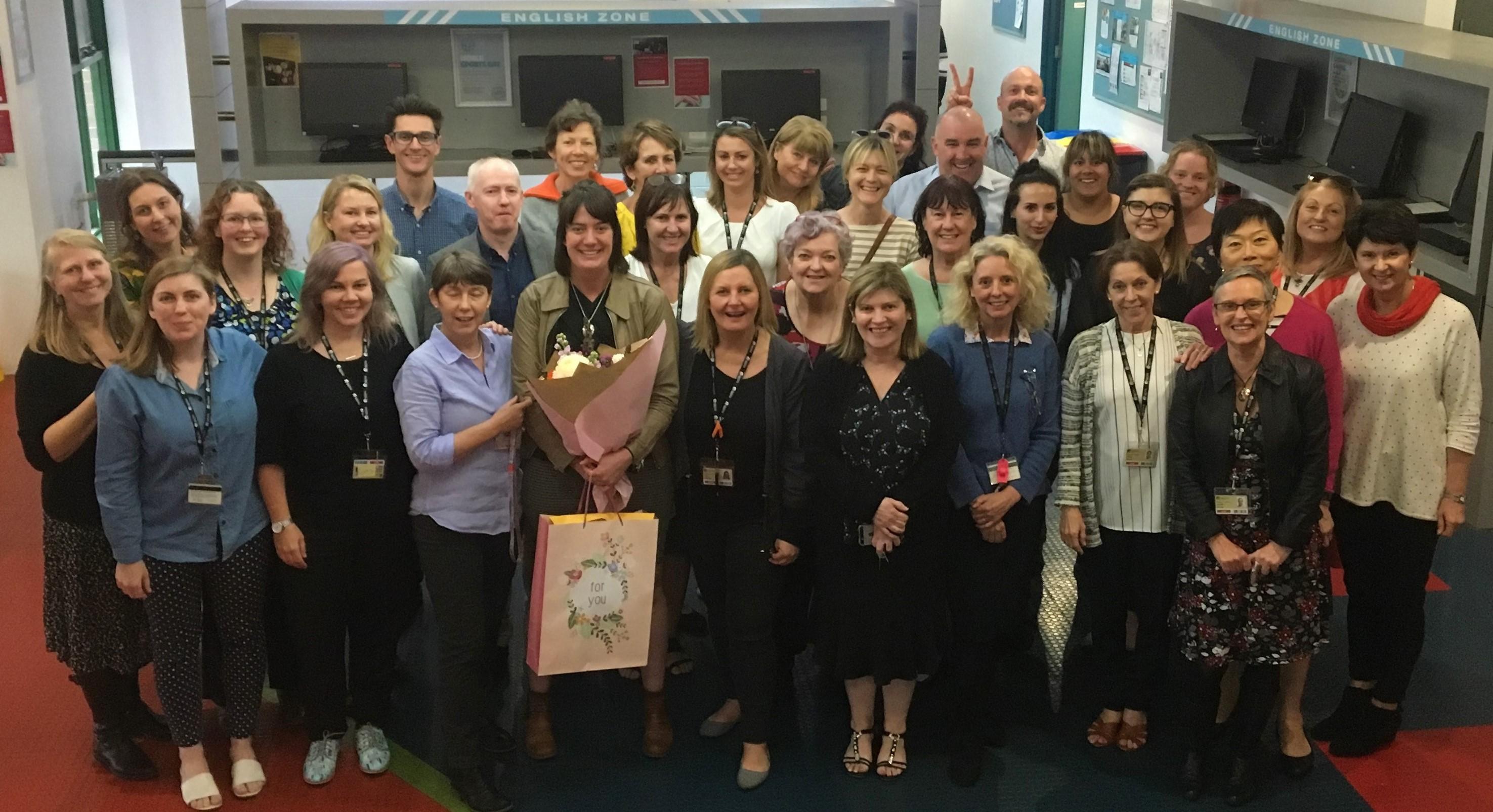 Anne Burnett Farewell Group Photo