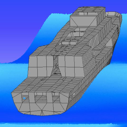 A computer simulation to determine ship corrosion
