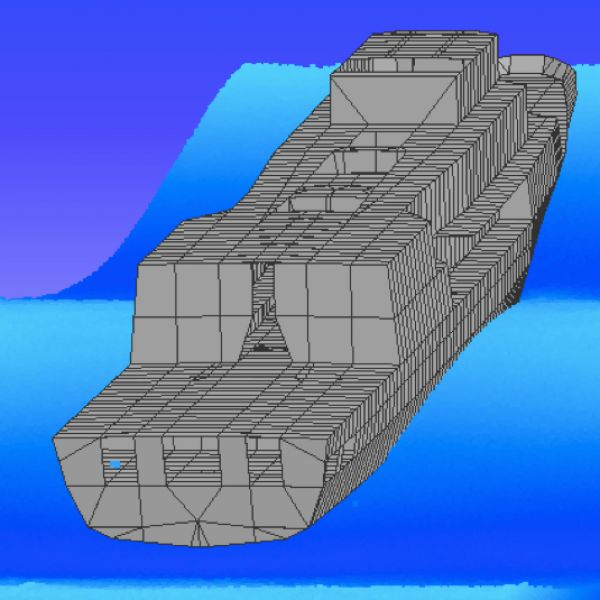 A computer simulation to determine ship corrosion