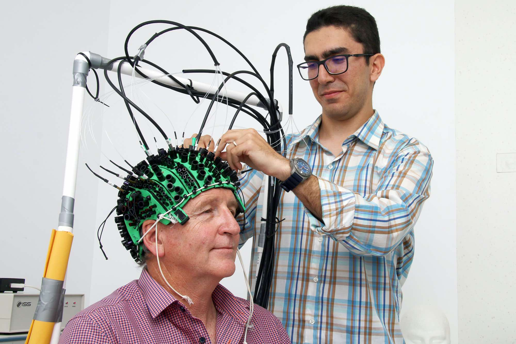 Near Infrared Light for the Diagnosis of Brain Disease