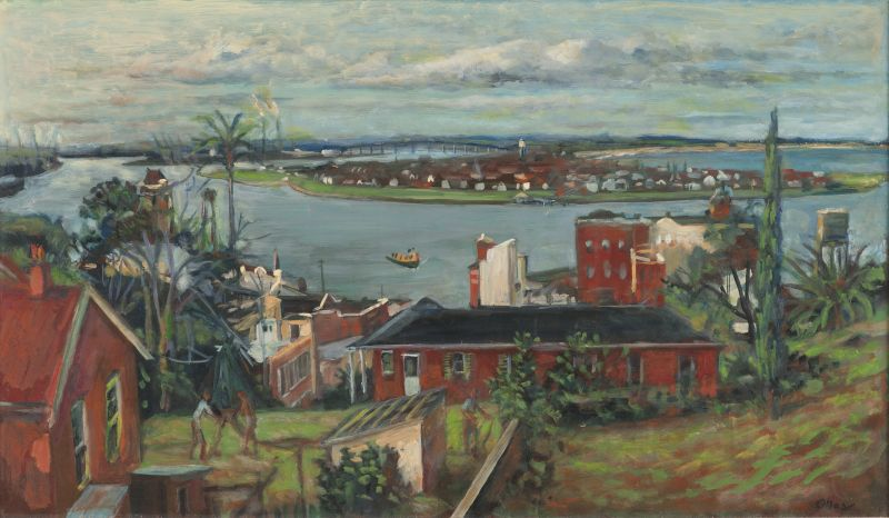 Margaret Olley, After The Rain Looking Towards Stockton, 1970.