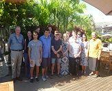 Newcastle Business School Students in Samoa
