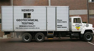 NEWSYD Geotechnical Testing Facililty