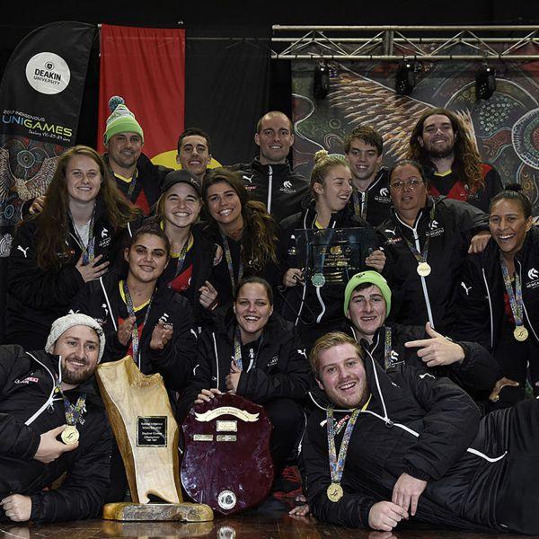 UON Indigenous Unigames team