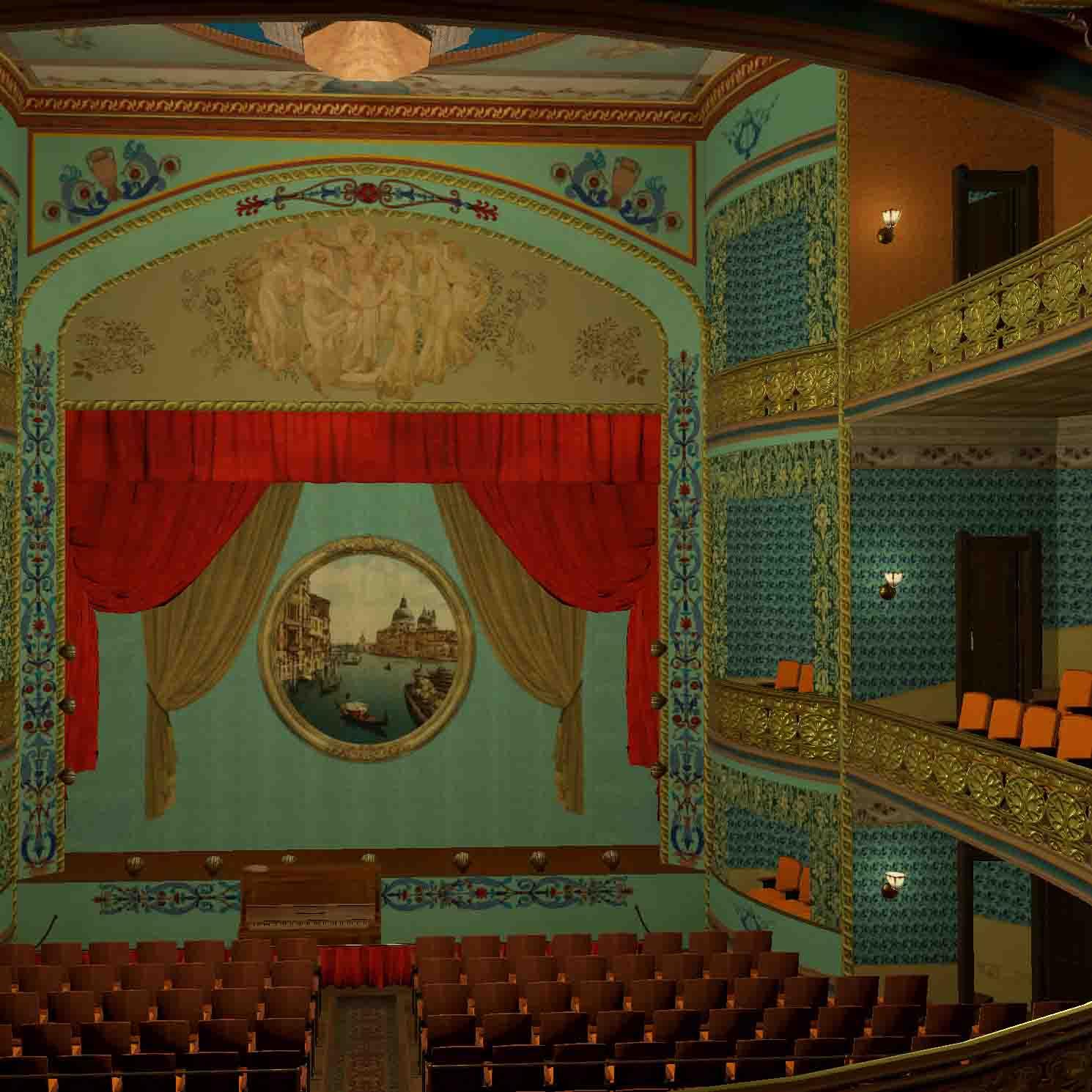 Victoria Theatre interior